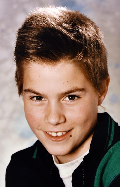 Zahnlücke und Unbekümmertheit: Mit 10 ist Samuel Schumacher noch stolz auf sein Alter.