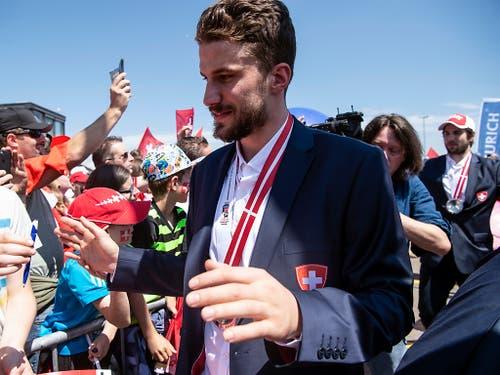 Schweizer Silberheld und NHL-Star: Roman Josi, der Captain der Nashville Predators, führte die Schweizer Nationalmannschaft zur Silbermedaille an der WM in Kopenhagen (Bild: KEYSTONE/MELANIE DUCHENE)