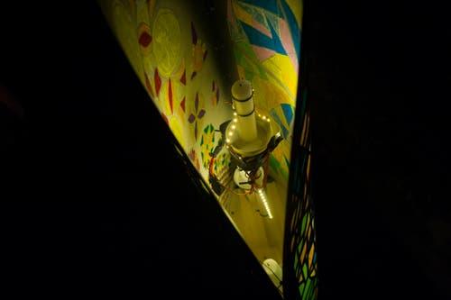 Auch LED ist eine Möglichkeit die Infuln zu erhellen. Bild: Dominik Wunderli (Küssnacht, 5. Dezember 2018)
