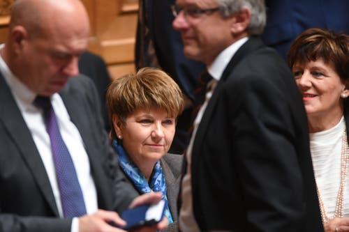 Die neue Bundesrätin Viola Amherd. (Bild: Keystone)