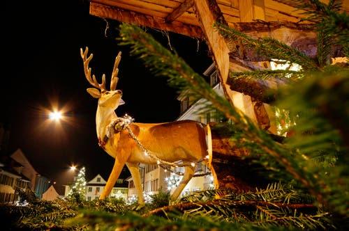 Weihnachtsdekoration in Beromünster (Bild: Marianne Schmid (Beromünster, 4. Dezember 2018))