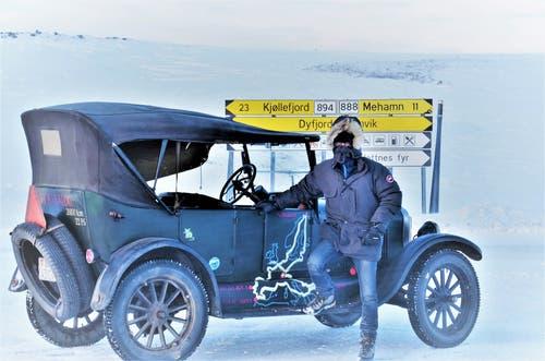 Kurz vor der Barentssee in Norwegen fielen die Temperaturen erstmals in den Bereich von minus 20 Grad. (Bild: PD)