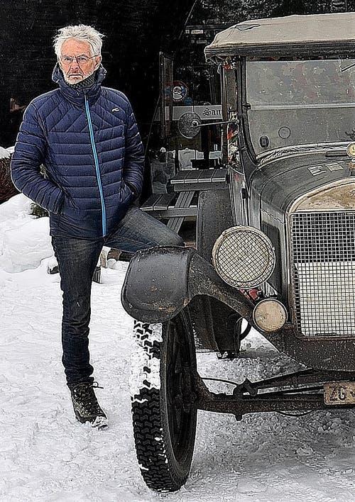 Bernhard Brägger aus Oberwil ZG legte mit diesem Ford T (Baujahr 1926) rund 25'000 Kilometer an die entferntesten Punkte Europas zurück. (Bild: PD)