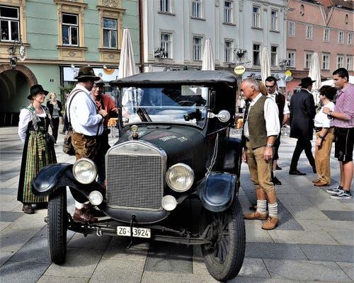 Auf dem Marktplatz in Leoben in der Steiermark. (Bild: PD)