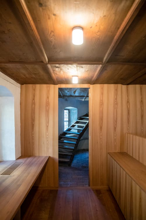 Einblick in das Obergeschoss der Sakristei. (Bild: Philipp Schmidli, 7. Dezember 2018)