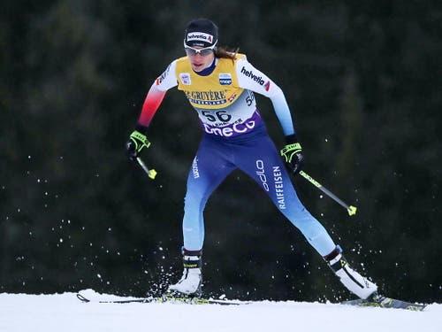 Nathalie von Siebenthal gewann Weltcup-Punkte, blieb aber unter den Erwartungen (Bild: KEYSTONE/EPA NTB SCANPIX/GEIR OLSEN)