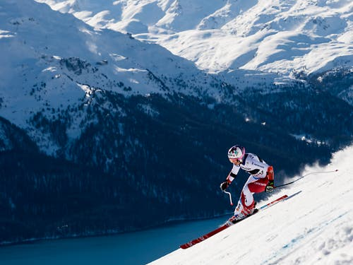 Michelle Gisin fuhr auf den 5. Platz (Bild: KEYSTONE/JEAN-CHRISTOPHE BOTT)
