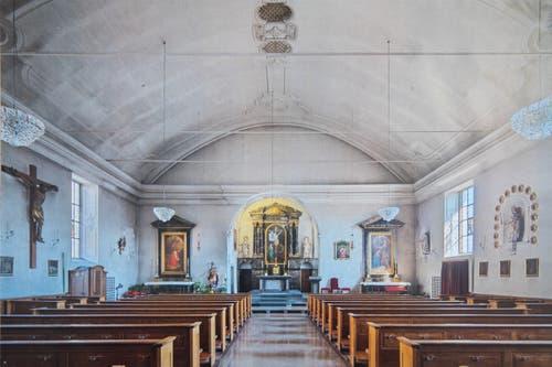 Verstaubt: Die Peterskapelle geriet in den vergangenen zunehmend in Vergessenheit. (Bild: PD)