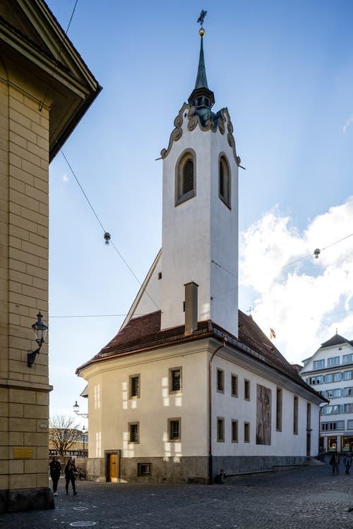 Die Kirche soll wieder mehr Besucher anlocken. (Bild: Philipp Schmidli, 7. Dezember 2018)
