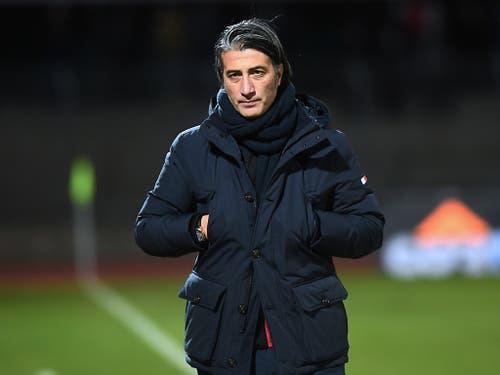 Murat Yakin musste mit Sion nach zuletzt drei Siegen wieder einmal Punkte abgeben (Bild: KEYSTONE/TI-PRESS/ALESSANDRO CRINARI)