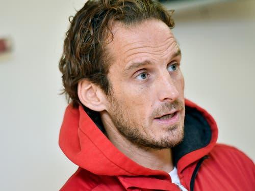Patrick Fischer, der Trainer des Jahres (Bild: KEYSTONE/WALTER BIERI)
