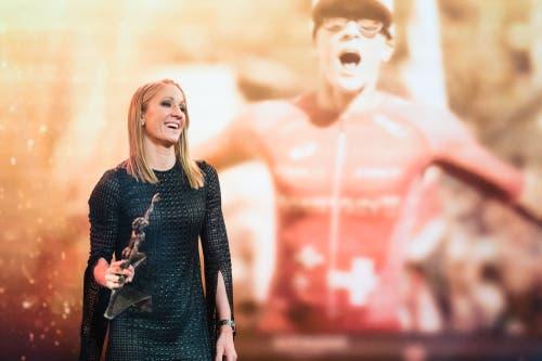 Triathletin Daniela Ryf wird Sportlerin des Jahres 2018 an den Credit Suisse Sports Awards. (Bild: PPR/Manuel Lopez)