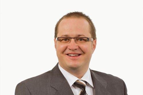 Stans Gemeinderat: Marcel Käslin, FDP, 44, bisher. (Bild: pd)