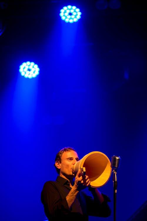 Beny Betschart vom Pirmin Huber Ländlerorchester (Bild: Alexandra Wey / Keystone)