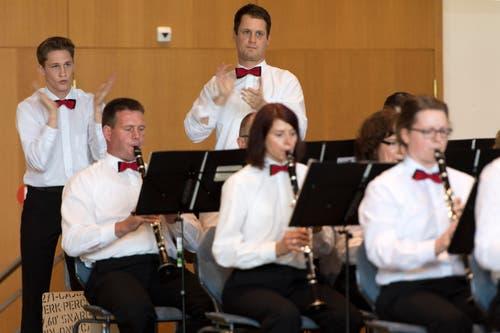 Musik aus dem Kanton Luzern: Die Feldmusik Grosswangen in Aktion. (Bild: LAURENT GILLIERON)