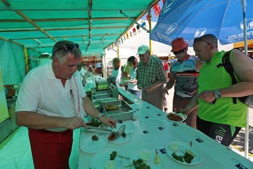 An der 1. August-Feier in Beckenried. (Bild: Roger Zbinden / Neue NZ)