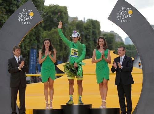Peter Sagan, bester Springer 2015. (Bild: AP / Laurent Cipriani)
