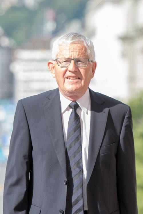 Alt-Bundesrat Kaspar Villiger. (Bild: Urs Flüeler / Keystone)