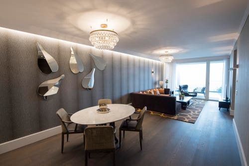 Eine Wohnung im «Grand Residence Suites» (Bild: Urs Flüeler / Keystone)