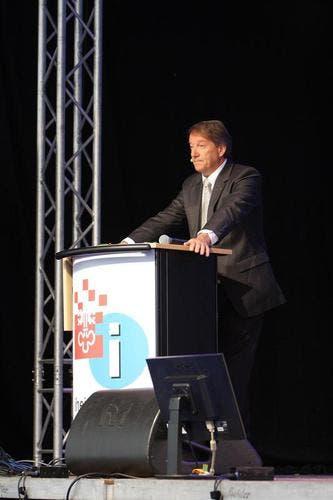 Peter Murer, Präsident der Vereinigung Pro Wirtschaft. (Bild: André A. Niederberger / Neue NZ)