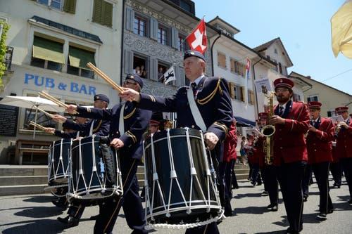 Musikgesellschaft Emmen (Bild: Nadia Schärli / Neue LZ)