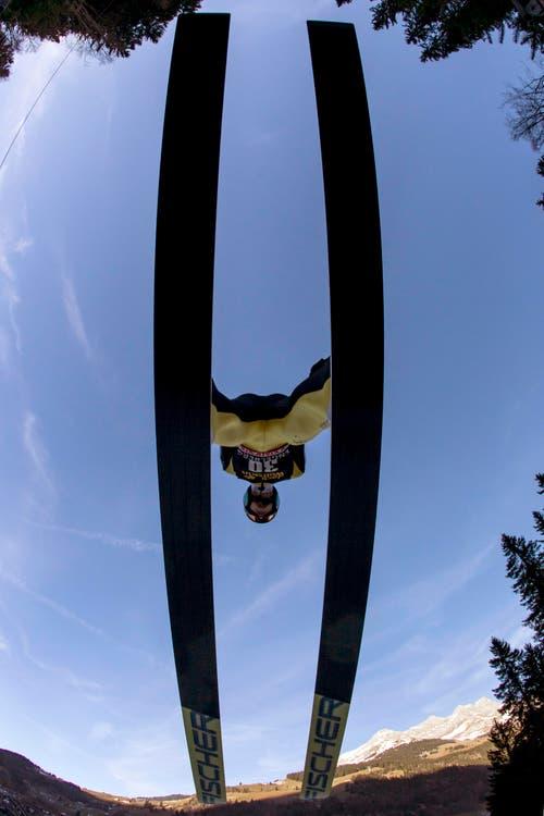 Gregor Deschwanden aus einer anderen Sicht. (Bild: Keystone/ ALEXANDRA WEY)