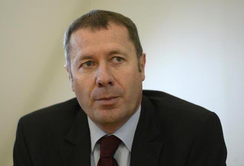 Othmar Filliger (CVP) wurde im 1. Wahlgang ebenfalls nicht in den Regierungsrat gewählt. (Bild: Keystone / Urs Flüeler)