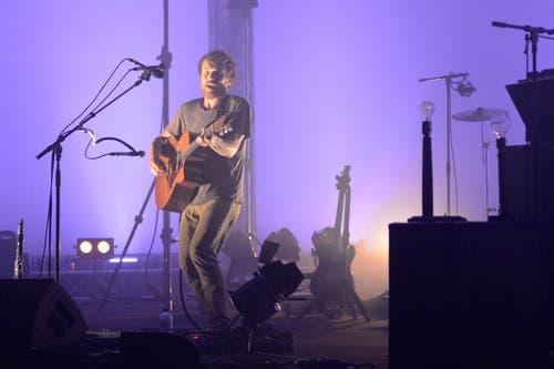 Damien Rice am Blueballs Festival im Konzertsaal des KKL Musik Kultur (Bild: Dominik Wunderli / Neue LZ)