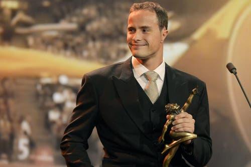 Marcel Hug ist Behindertensportler des Jahres. (Bild: Keystone)