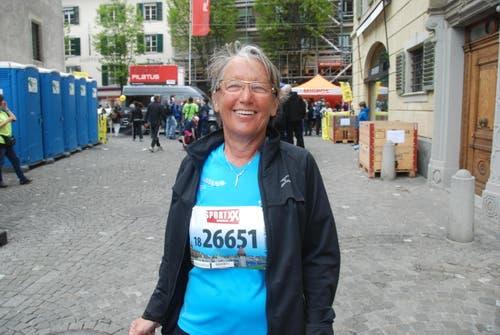 Maria Gisler aus St. Erhard (Bild: Swiss-Image)