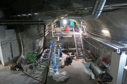 Kleinwasserkraftwerk bei Sedrun (24.08.2015). (Bild: PD)