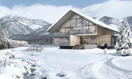 Entlang der Furkareuss sollen in den kommenden Jahren weitere Villen gebaut werden. (Bild: Andermatt Swiss Alps)