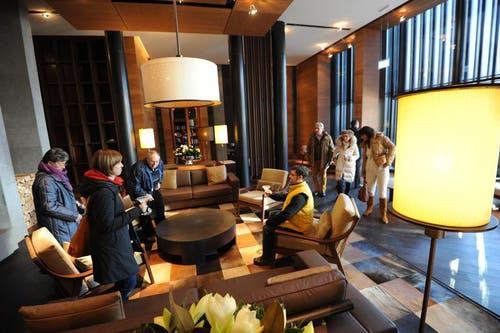 Tag der offenen Türe am 1. Dezember im Hotel The Chedi in Andermatt. (Bild: Urs Hanhart / Neue UZ)