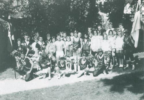Eidgenössisches Turnfest 1963 in Luzern (Bild: zvg)