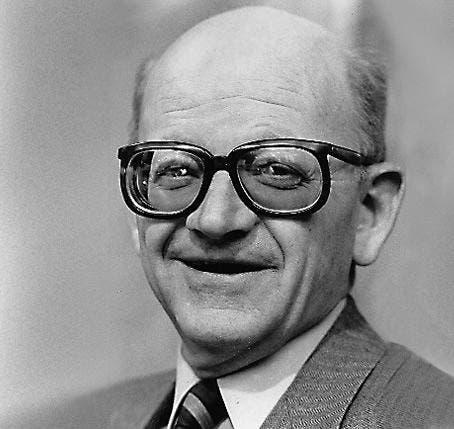 Alphons Egli (CVP), Kanton Luzern, im Bundesrat von 1982 - 1986. (Bild: Archiv Neue LZ)