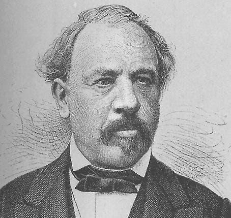 Josef Martin Knüsel (FDP), Kanton Luzern, im Bundesrat von 1855-1875. (Bild: Archiv Neue LZ)
