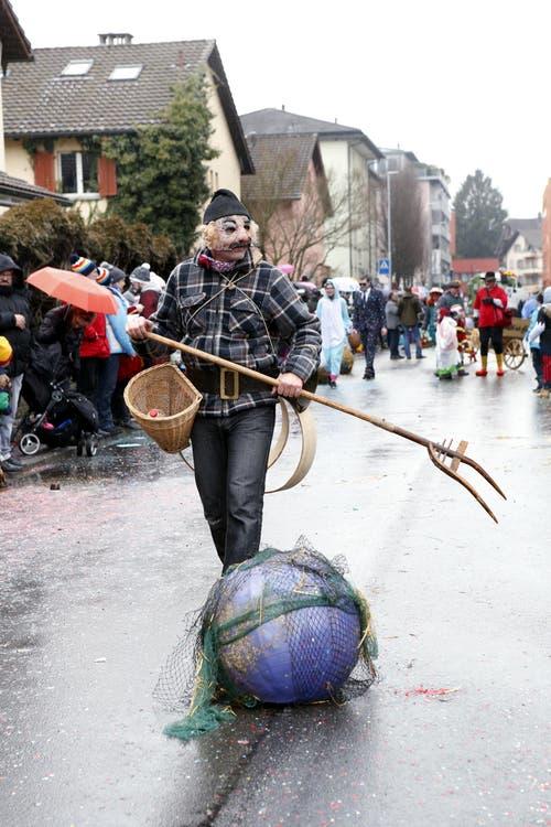 Schnitzelbankgruppe Mischtchäfer (Bild: Werner Schelbert (11. Februar 2018))
