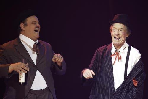 Gaston & Roli (SUI): Das clowneske Dreamteam Gaston & Roli werden bereits zum dritten Mal ihre Tollpatschigkeit in guter alter Manier à la Stan Laurel & Oliver Hardy in der Manege beweisen. Mit Garantie begleiten herrlich unverfälschte und deshalb so ansteckende Kinderlacher die Auftritte der Clowns (Bild: PD)