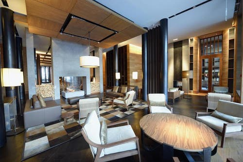 Lounge im «Chedi» (Bild: Keystone)