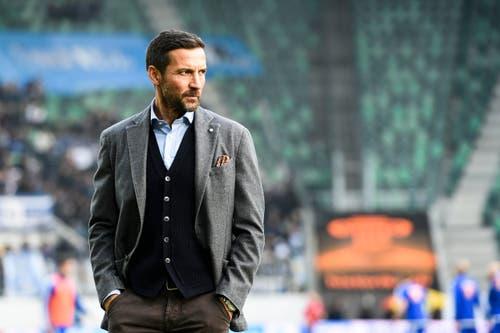 Der Ostschweizer Cheftrainer Joe Zinnbauer. (Bild: Keystone / Gian Ehrenzeller)