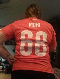 Mein persönliches Fanshirt für die EM (Bild: mein schatz)