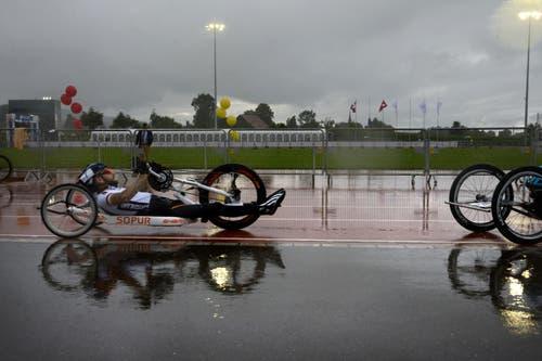Impressionen vom Handbiker Team Wettkampf. (Bild: Nadia Schärli/Neue LZ)