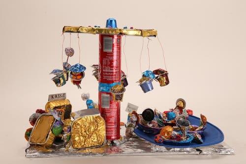 «Fun Park» von Schulhaus Fadacher, Dietlikon Lehrperson: Barbara Hüppi; Künstler: Anastasia Brunner, Simon Pinker, Marc Lamper, Ilona Nufer (Bild: pd)