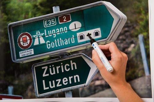 25. September: Der Nationalrat stimmt für den Bau einer zweiten Gotthardröhre. Der Kanton Uri setzt deshalb auf den Willen des Schweizer Stimmvolks. (Bild: Roger Gruetter / Neue LZ)