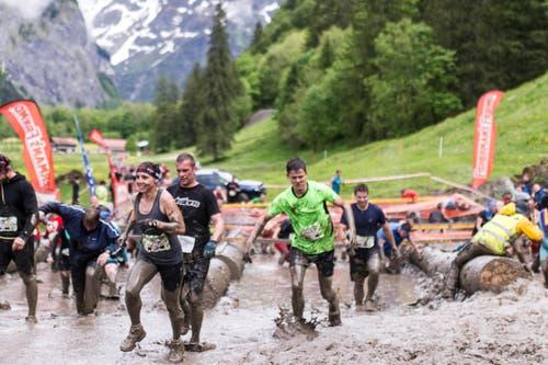 Sport macht Spass. (Bild: Sebastian Schneider / Keystone)