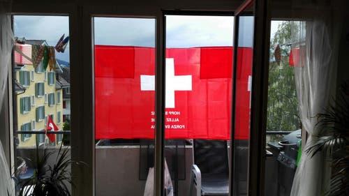 Hopp Schwiiz! (Bild: Michèle Geiger, Luzern)
