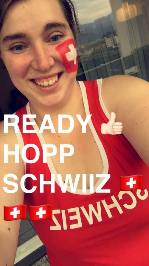 HOPP SCHWIIZ (Bild: Céline Bünder, Emmenbrücke)