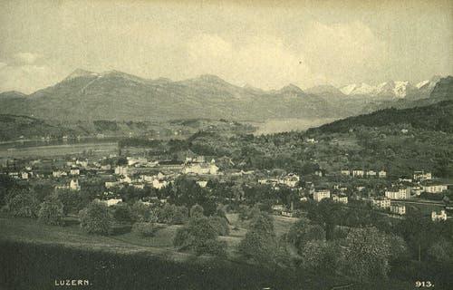 Obergrund, 1927 (Bild: PD)