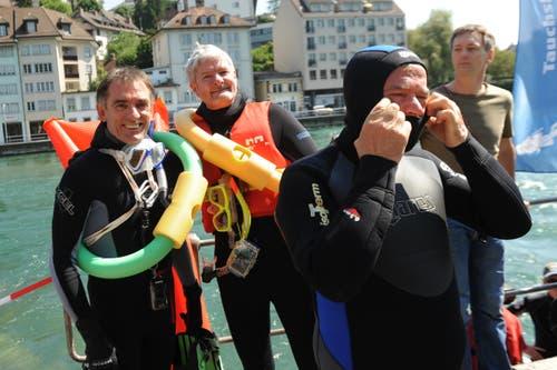 Reussschwimmen 2013 (Bild: Archiv Neue LZ)