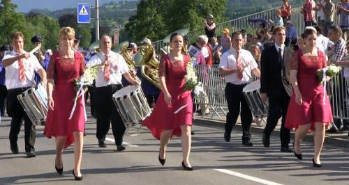Musikgesellschaft Flühli (Bild: Videostill rem)